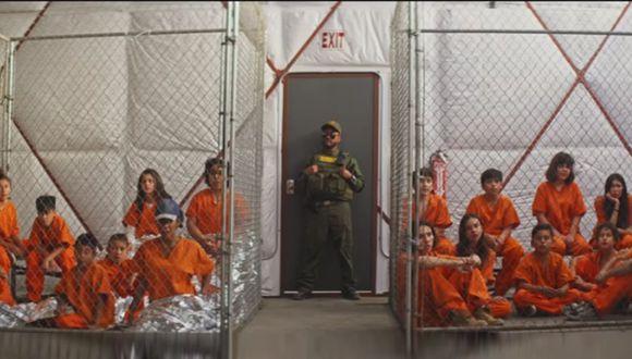 La agrupación utilizó un video, de más de 9 minutos, para alzar su voz de protesta contra las políticas migratorias en EE.UU. (Foto: Captura)