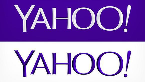 Este es el nuevo logotipo de Yahoo. (Internet)