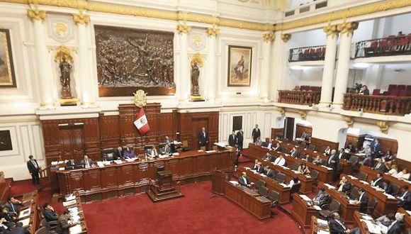Pleno sesionará este martes sobre la Ley Electoral. (MarioZapata/Perú21)