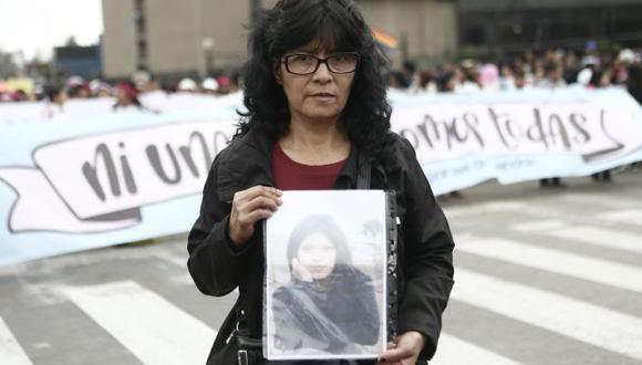 La joven ingeniera Shirley Villanueva desapareció hace casi 5 meses. Su madre exige justicia. (Geraldo Caso)