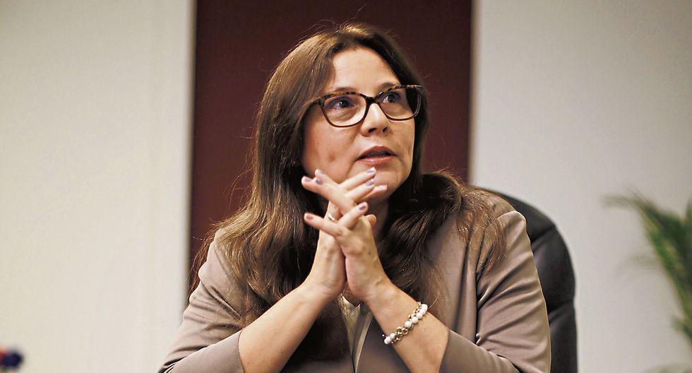 Ana María Mendieta. Ministra de la Mujer. (Perú21)