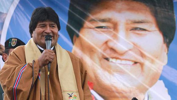 """Evo Morales viajará este fin de semana a Venezuela en donde participará en una cumbre de """"solidaridad"""" con el país bolivariano tras las sanciones impuestas por Estados Unidos a funcionarios del régimen de Nicolás Maduro.(Getty)"""