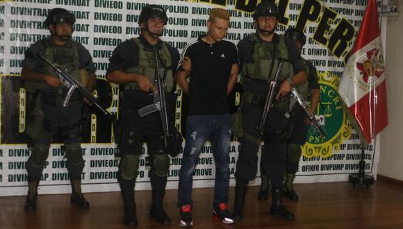NO QUIERE HABLAR MÁS. Sicario no revela posible ubicación del delincuente 'Fortachón'. (Mario Zapata)
