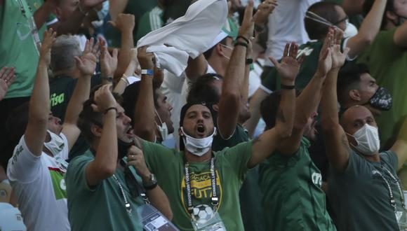 Palmeiras vs. Santos se ven las caras por la final de la Copa Libertadores 2020. (Foto: AFP)