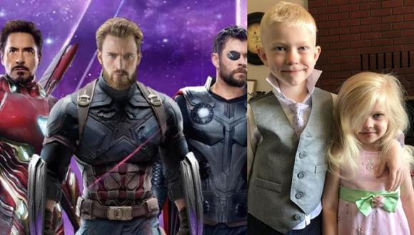 Actores del mundo de Marvel enviaron mensajes al pequeño Bridger Walker. (Composición)