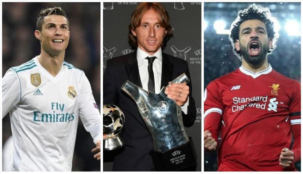 Modric, 90 puntos más que Cristiano Ronaldo: así quedó el Top 10 del Mejor Jugador UEFA.(Foto: AFP)