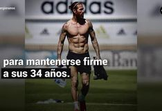 Mira la rutina de ejercicios de Sergio Ramos para definir y ganar masa muscular