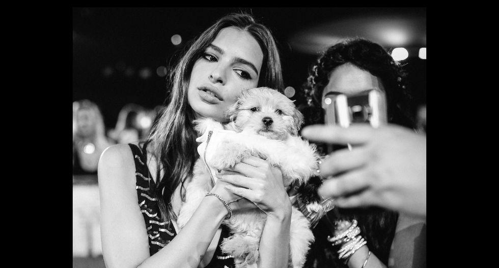 Publicación de Emily Ratajkowski tiene más de un millón y medio de likes por parte de todos sus fanáticos de Instagram. (Foto: AFP)