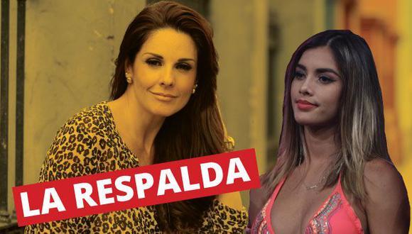 """Rebeca Escribens a Korina Rivadeneira: """"El Perú desea que te quedes"""". (Perú21)"""