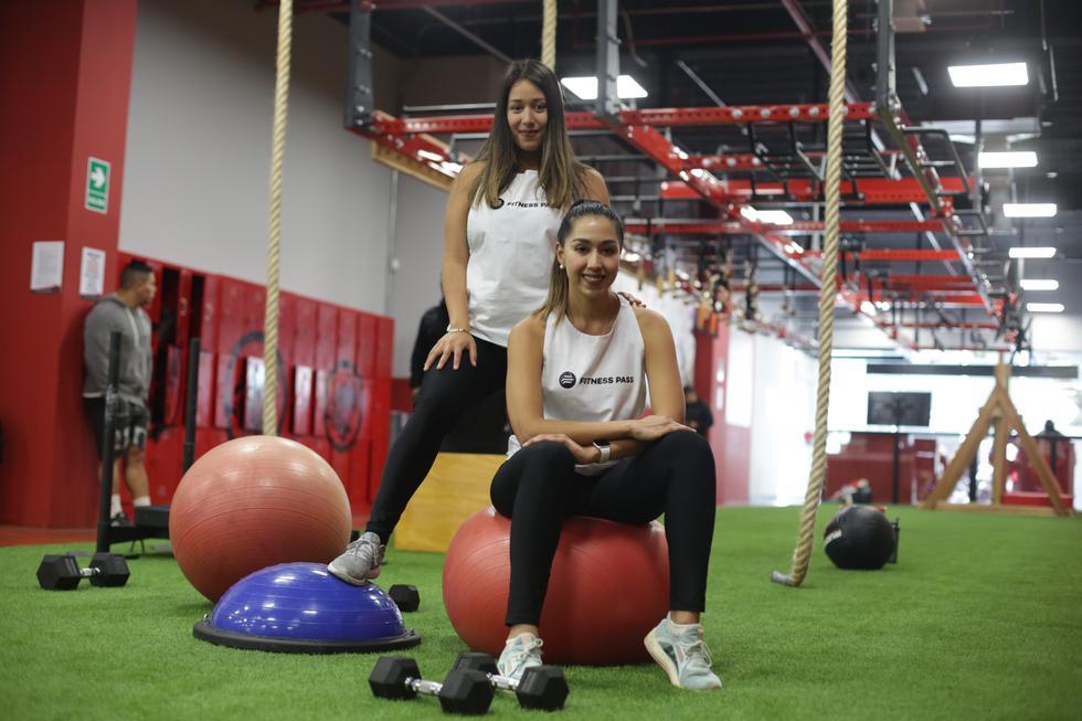 Las hermanas Gonzales decidieron crear 'Fitness App', para ayudar a las personas a ejercitarse. (Marco Ramón)