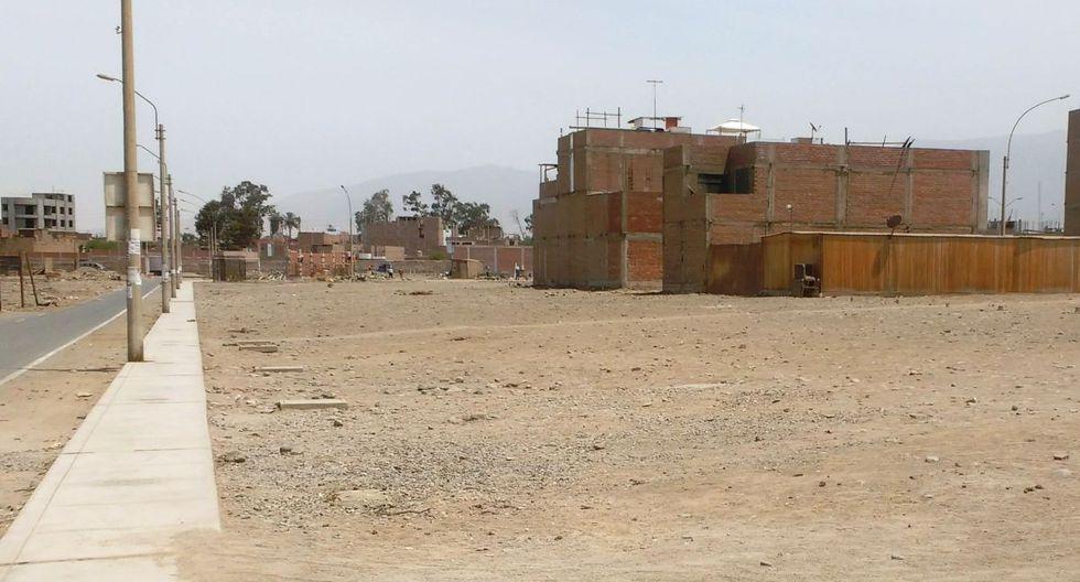Las urbanizaciones donde se sitúan los lotes en venta cuentan con los servicios básicos. (Municipalidad de Lima)