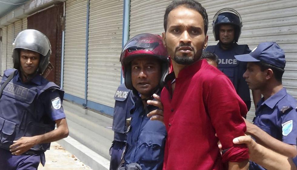 Supuestos atacantes fueron detenidos. (EFE)