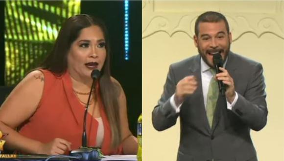 Adolfo Aguilar opina sobre desenvolvimiento de participante. (Foto: captura de video)