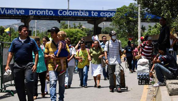 Venezuela pedirá carnet migratorio a colombianos que ingresen a su territorio. (Foto: AFP)