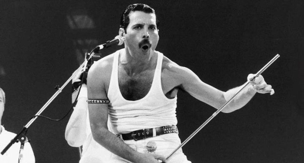 Se hizo conocido por ser el fundador y vocalista de la banda de rock Queen. (Internet)