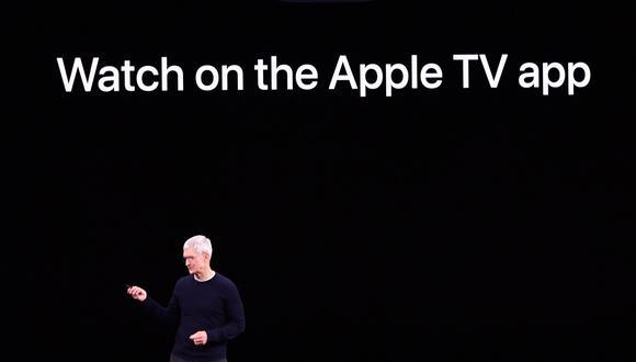 La plataforma de streaming de Apple estará disponible a nivel mundial desde el viernes 1 de noviembre. (Foto: AFP)