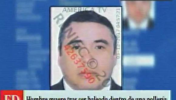 Ventanilla: Lo acribillaron delante de sus tres hijos en un pollería. (América Televisión)