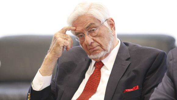 Política económica: Samuel Gleiser ve que hay mucha inercia en este gobierno. (Luis Gonzales)