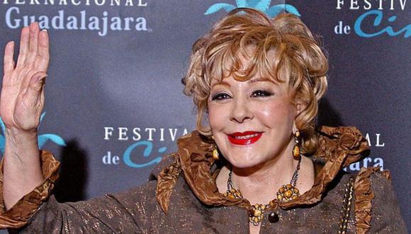 Silvia Pinal se encuentra bien de salud y publica video en redes sociales. (Foto: Agencias)