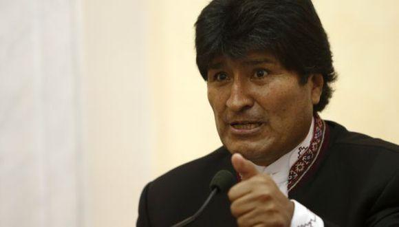 Evo Morales dice que Palacio Quemado quedará para el turismo. (AP)