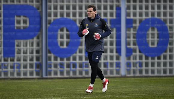 Iker Casillas es jugador de Porto desde mediados del 2015. (Foto: AFP)