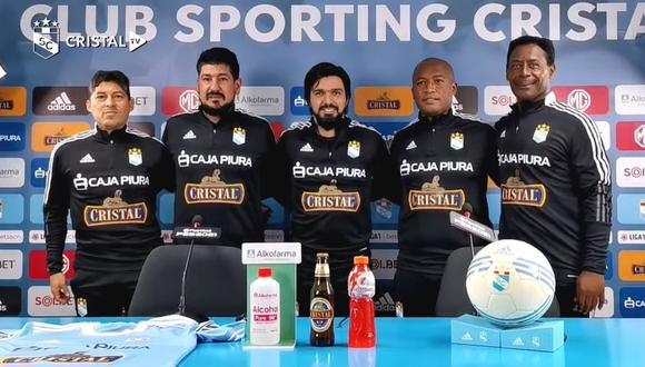 Jorge Cazulo regresa a Sporting Cristal como DT de la Sub18.