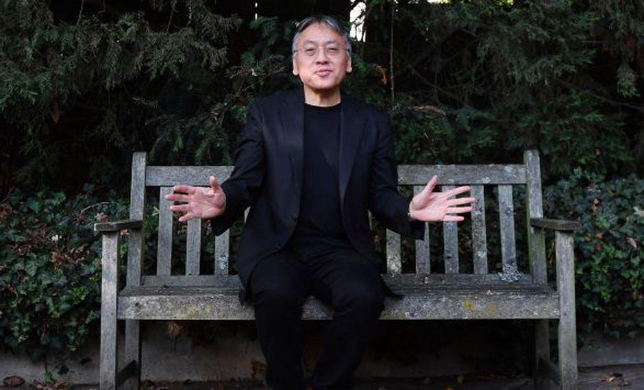 Kazuo Ishiguro, Nobel de Literatura 2017 (AFP).
