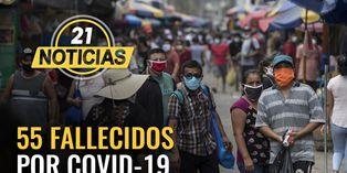 Coronavirus en Perú: 55 fallecidos por COVID-19