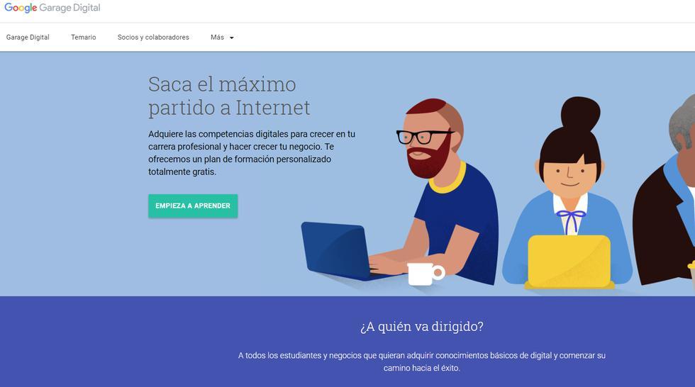 Cursos Online Google Ofrece Mas De 20 Cursos Gratis Con Certificado Tecnologia Peru21
