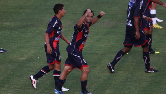 Junior Aliberti marcó el tanto del triunfo. (Depor)