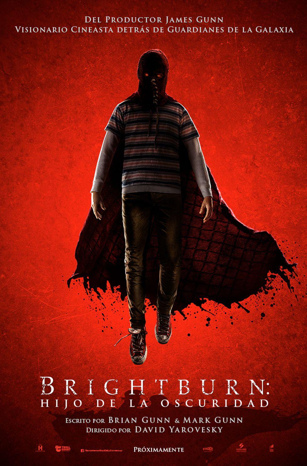 """Nuevo arte de la película """"Brightburn: Hijo de la Oscuridad"""". (Foto: Sony)"""