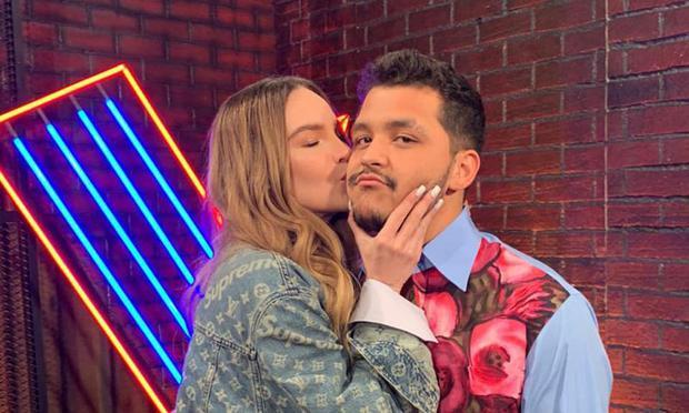 Belinda y Nodal es una de las parejas más mediáticas de México (Foto: Ventaneandouno / Instagram)