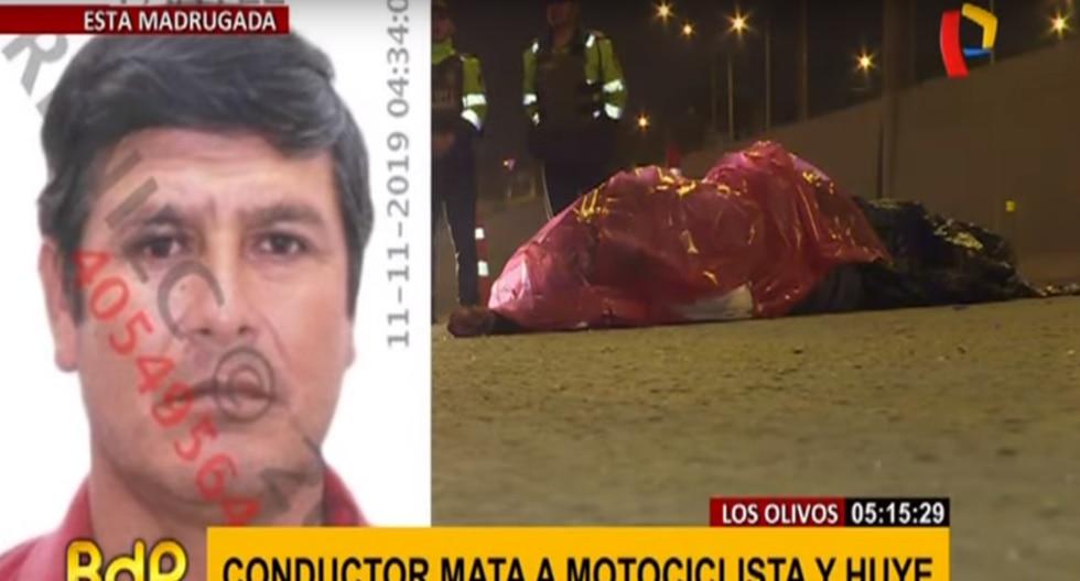 Chofer que provocó el accidente se dio a la fuga. (Panamericana)