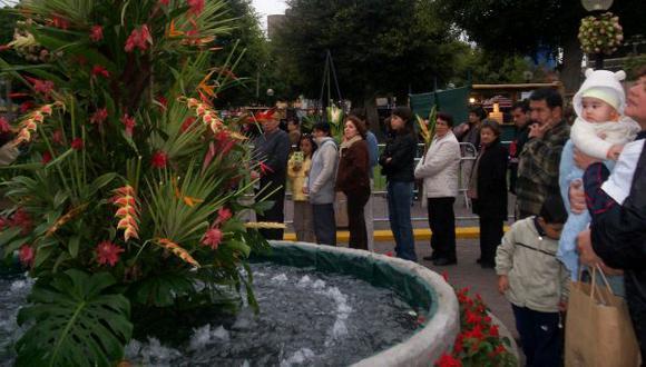 La Feria representa el esfuerzo por consolidar la floricultura en nuestro país. (PERÚFLORA)