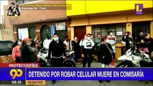 Detenido por robar celular falleció en comisaría de Huacho