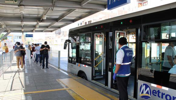 Servicios de transporte urbano tendrán nuevos horarios ante ampliación de cuarentena. (Foto: GEC)