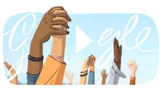El Día Internacional de la Mujer es conmemorado con un video de doodle. (Foto: Google)