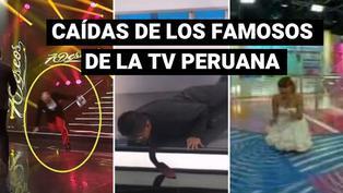 Famosos peruanos: las más recordadas caídas en televisión