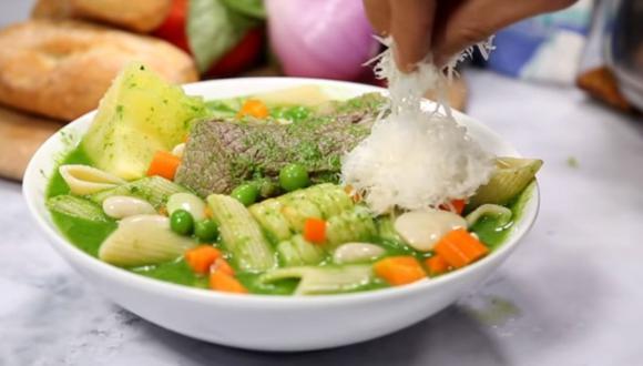 El menestrón es uno de los platos más ricos y contundentes de nuestra gastronomía. (Foto: A comer)
