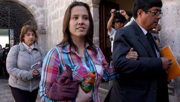 LIBRE DE SOSPECHA. Todo indica que la fiscal archivaría la investigación a Rosario Ponce. (Heiner Aparicio)