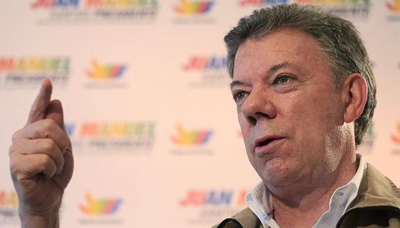 Colombia: Santos dice que proceso de paz peligraría si no es reelegido. (Reuters)
