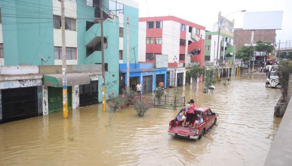 Aniego causó graves daños en San Juan de Lurigancho. (Foto: Giancarlo Ávila /GEC)