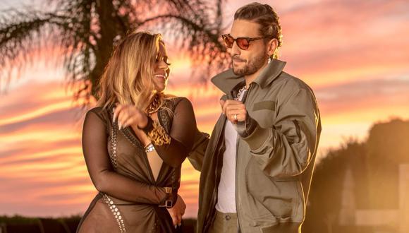 Karol G se disculpó con Maluma por no llegar a tiempo a su concierto en Colombia. (Fotos: Universal Music)