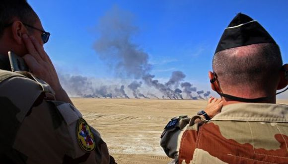 Francia participa en Siria en la coalición internacional bajo mando de EE.UU. (Foto: AFP)