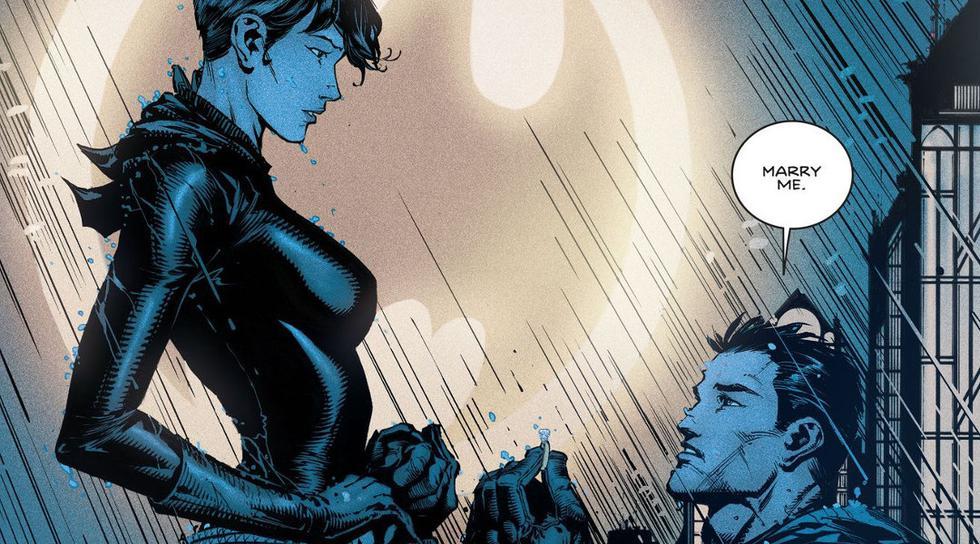 Batman y Catwoman se casan, y este es el vestido de bodas. (DC Comics)