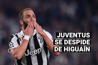LLegaría a la MLS: Juventus se despide de Gonzalo Higuaín