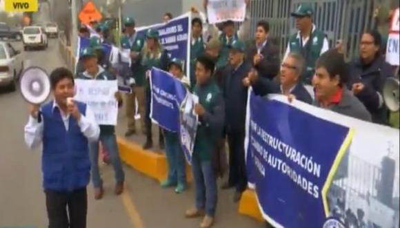 Senasa advierte que no despedirá a trabajadores que acataron huelga.(RPP)
