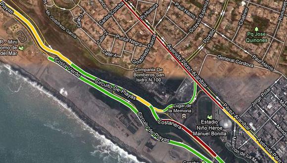 Captura: maps.google.com