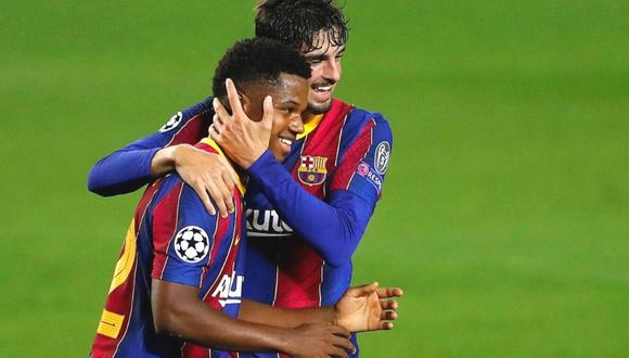 Ansu Fati anuncia regreso con Barcelona (Foto: EFE)