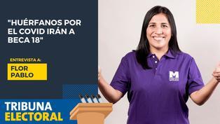 Flor Pablo candidata al Congreso por el Partido Morado